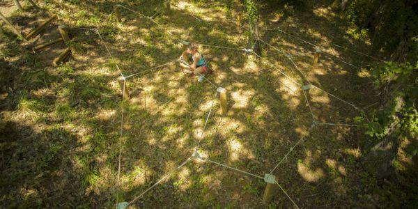labyrinthe de cordes casse-tête